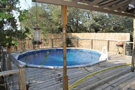 Villas in the Wimberley Hills: Another view of the pool