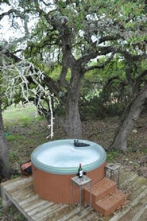 Villas in the Wimberley Hills: Hot tub