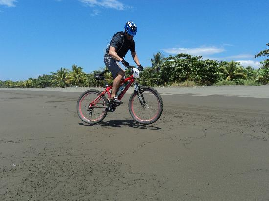 Quepos, Costa Rica: Rentals bike at manuel antonio