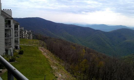 Wintergreen Resort: View from our balcony in Vistas