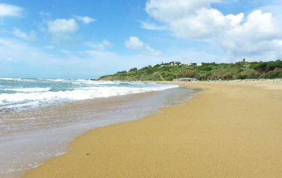 Costanza Beach Club: la plage à 350m de l'hôtel
