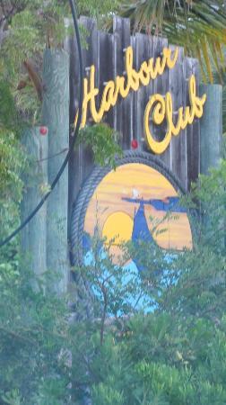 Harbour Club Villas & Marina: Sign