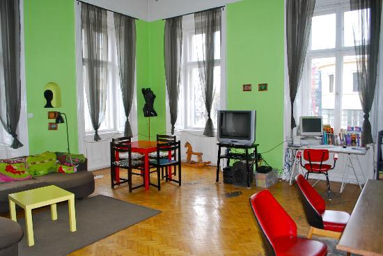 Goat Hostel: Common Area / Lounge