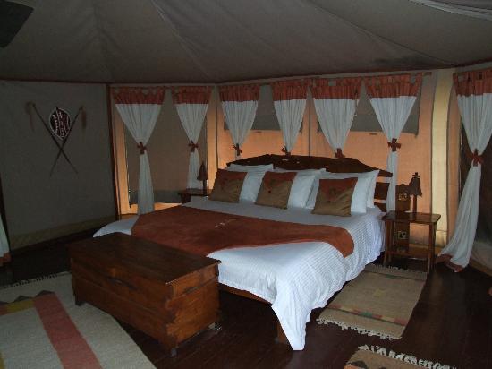 Tipilikwani Mara Camp - Masai Mara: Luxury tent