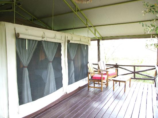 Tipilikwani Mara Camp - Masai Mara: Exterior of luxury tent