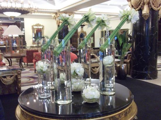 The Ritz-Carlton, Moscow: Part of the Hotel lobby