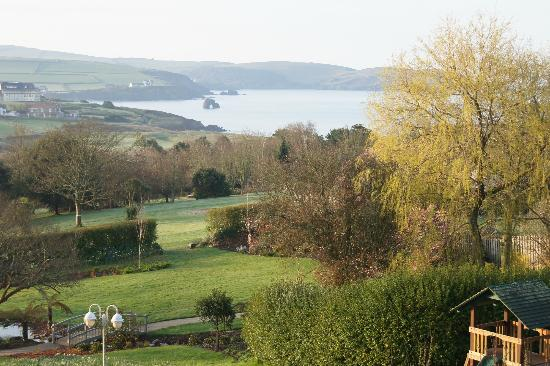 Thurlestone Hotel: Hotel Grounds with Golf Course