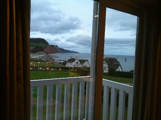Sidmouth Harbour Hotel - The Westcliff: View from the new rooms