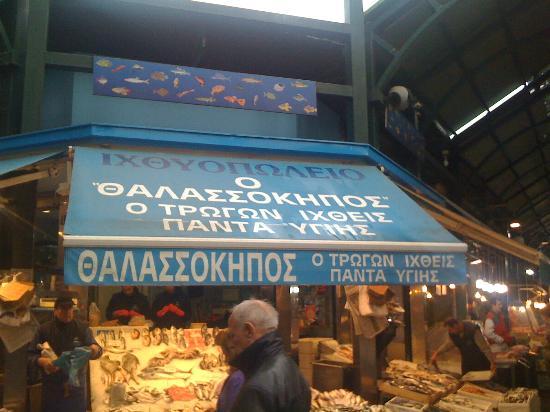 Thessaloniki Urban Adventures: At the fish market