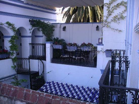 La Casa Noble : Terraza del primer piso