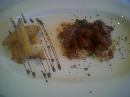 Hotel Villa Frigiliana: pig's cheek tajine with couscous