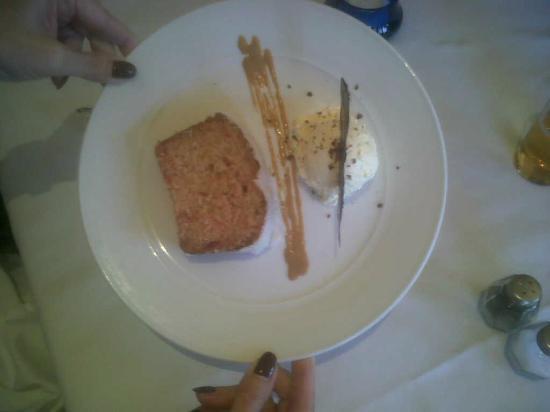 Hotel Villa Frigiliana: malibu cake