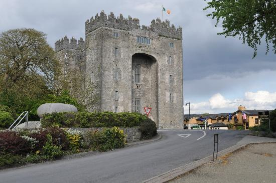 Bunratty Manor Hotel: castle near hotel