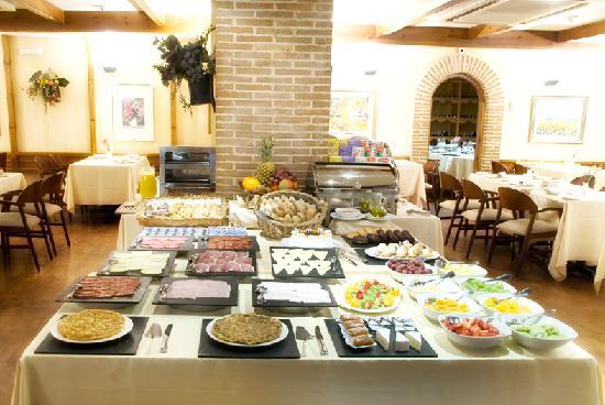 Hotel Parquesur: Desayuno Buffet