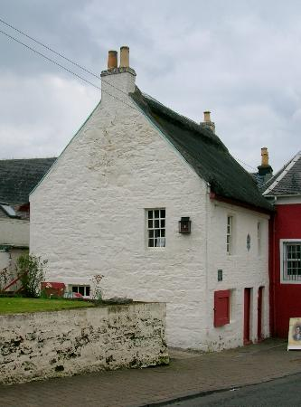 Bachelors' Club, gable end, Tarbolton