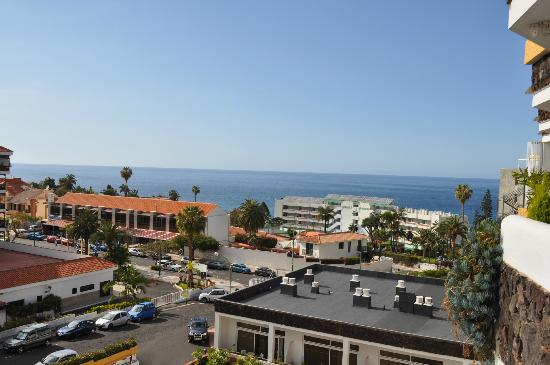 Hotasa Puerto Resort Bonanza Palace: Sea view from our balcony, lovely!