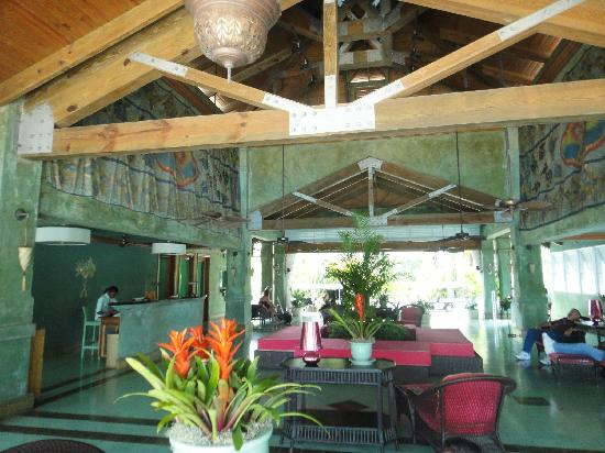 Couples Negril lobby
