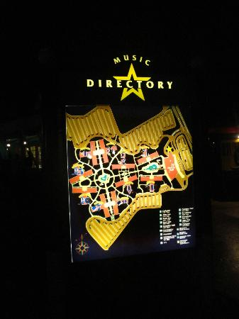 map of the resort - Picture of Disney's All-Star Music Resort ... All Star Music Resort Map on