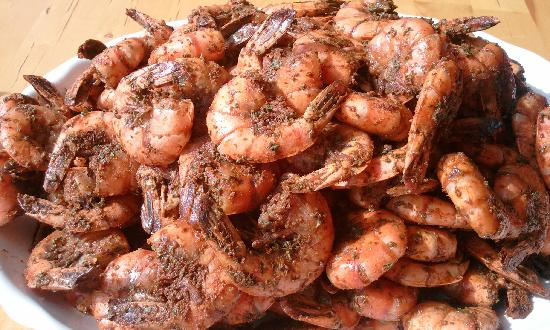Zachary's BBQ Southern Comfort & Catering: Voodoo Shrimp