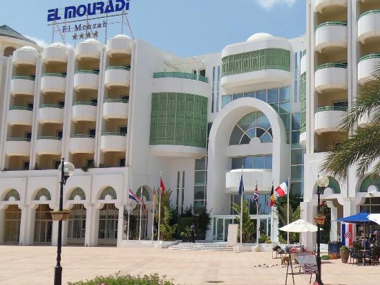 El Mouradi El Menzah: De mooie ingang