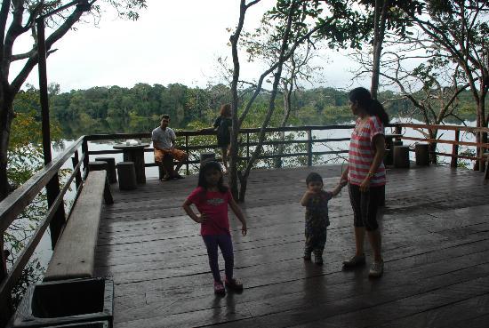 Juma Amazon Lodge: The deck