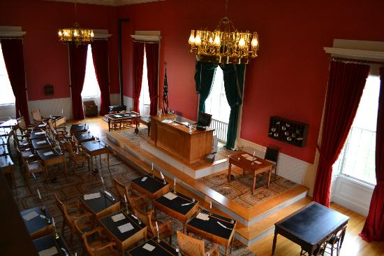 Old Capitol Museum : House Chamber