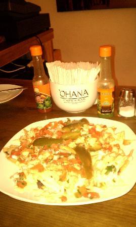 Ohana Cafe: Ohana Nachos