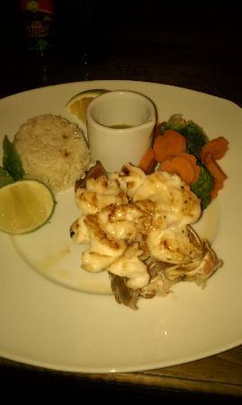 Ohana Cafe: Local fresh lobster