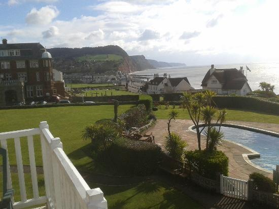 Sidmouth Harbour Hotel: View from the balcony to the East