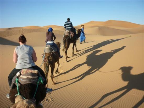 Kasbah Azalay Merzouga: Camel Trekking