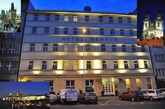 Hotel merkur bei nacht picture of hotel merkur prague for Hotel galerie royale prague tripadvisor