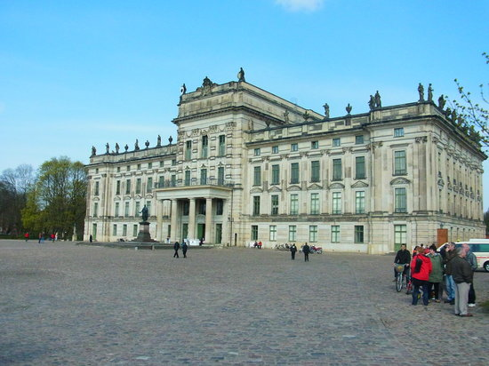 Ludwigslust, Germany: The front entrance