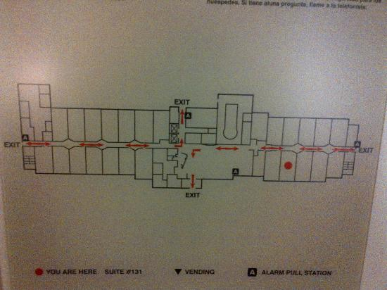 SpringHill Suites Ewing Princeton South: Ground Floor Plan