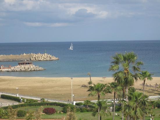 Marina Smir Hotel & Spa: La playa del hotel