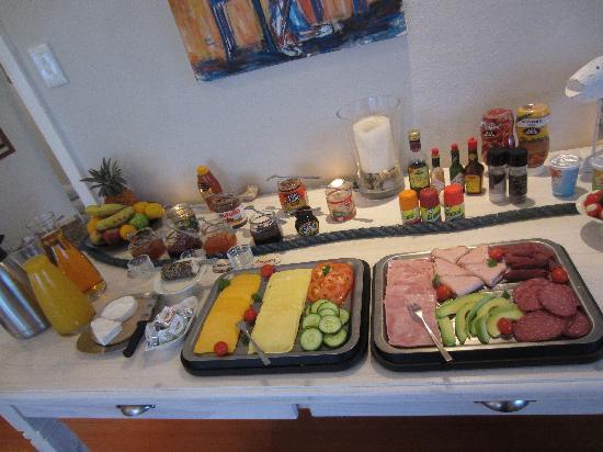 Swakopmund Guesthouse: kleiner Teil des Frühstückbuffets