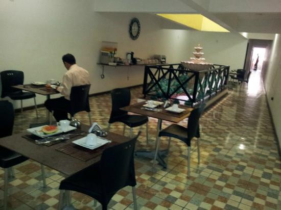 Pousada Solaris : Café da manha