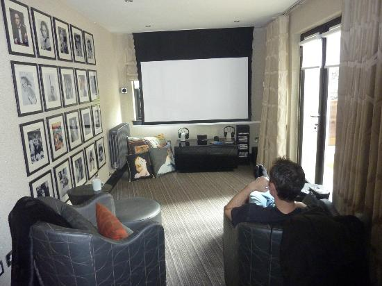 The Chester Residence: Our own little cinema - great movies to choose from too