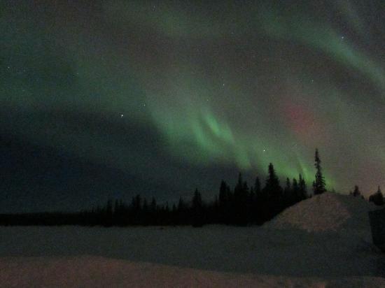 Camp Alta: Aurora Borealis