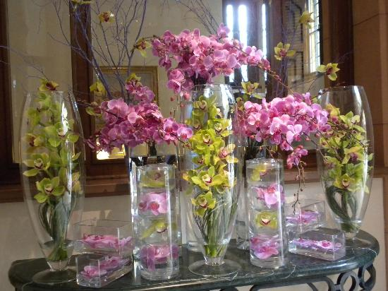 Four Seasons Hotel Istanbul at Sultanahmet: Orchids in the entrance