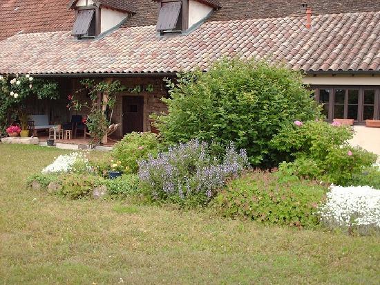Le Taillet Chambres d'hotes en Bourgogne : Façade sud-est