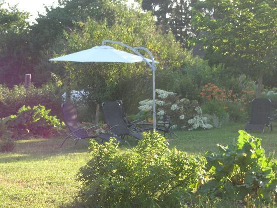 Le Taillet Chambres d'hotes en Bourgogne : Le Jardin