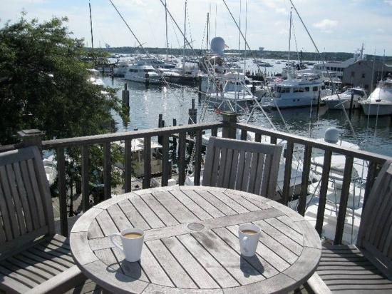 The Cottages at Nantucket Boat Basin: View from the Crow's Nest