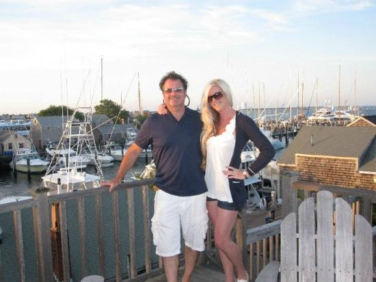 The Cottages at Nantucket Boat Basin: My husband and I @ Crow's Nest
