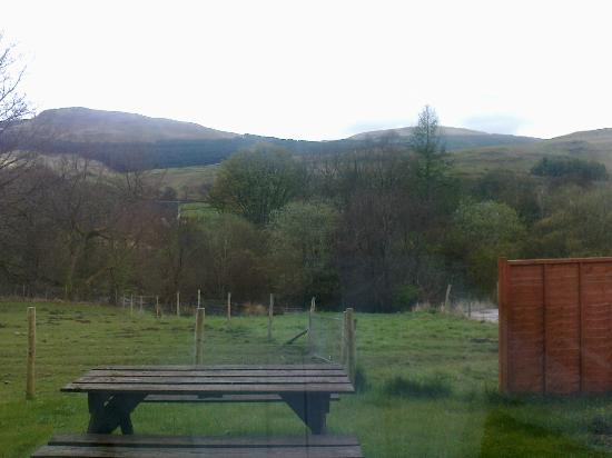 Rockfoot Bed and Breakfast : view from bedroom