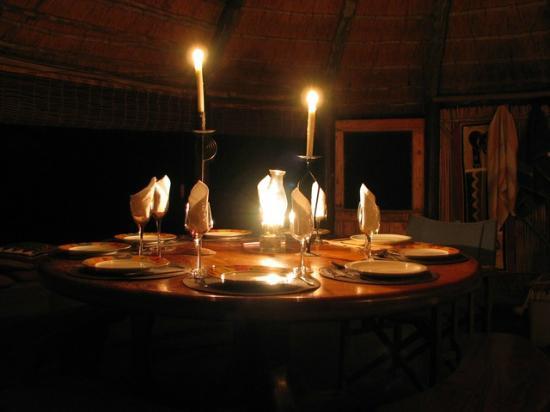 Umlani Bushcamp: fine dining experience in the bush