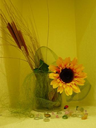Sunflower B&B Hotel: Sunflower decorations