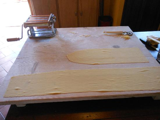 Taste Tuscany : We made this pasta -- soon to be ravioli!