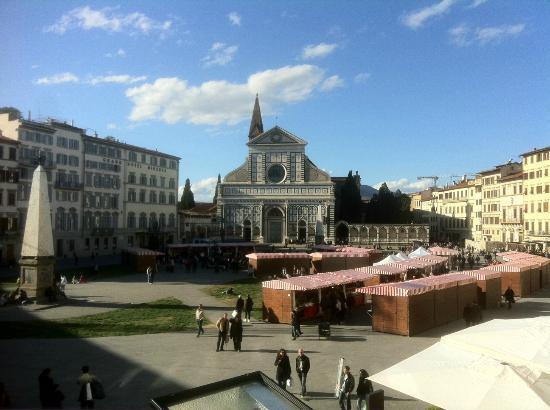 Hotel Roma: Vista dalla camera