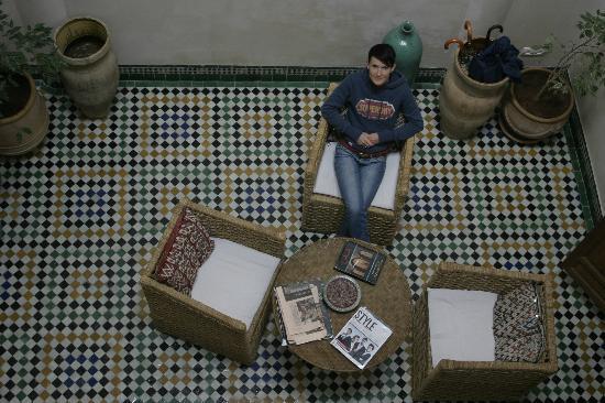 Dar Houdou Guest House: Courtyard