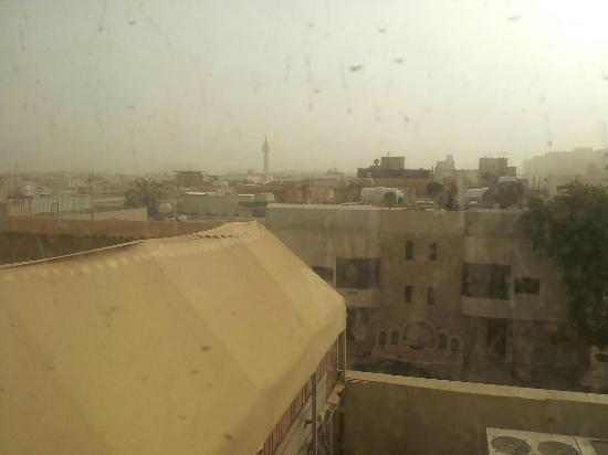 Hilton Garden Inn Riyadh Olaya: View from room